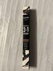 NYX 3-IN-1 BROW PENCIL 31B04 CARAMEL * FREE SHIPPING*
