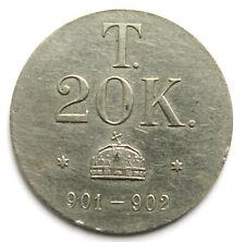 Münzgewicht zu 20 Korona Ungarn 19. Jhdt.