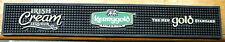 "Kerrygold Irish Cream Liqueur Rubber Bar Mat 23 3/4"" x 3 1/2"" x 1/2""  -New!!!"