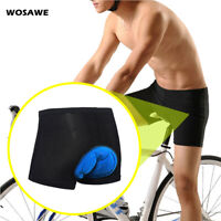 Men's Cycling Underwear 3D Gel Padded Shorts MTB Bike Riding Breathable Shorts