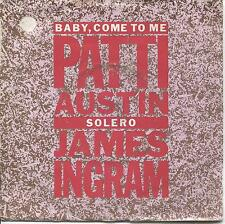 "7"" VINYL SINGLE. Baby, Come To Me by Patti Austin & James Ingram. 1981. K 15005."