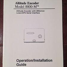 Shadin 8800-M Altitude Encoder Operation & Install Manual