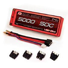 Venom 50C 5000mAh 7.4V 2 CELL LiPo Battery #VEN15086