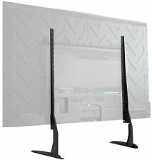 """VIVO Universal LCD Flat Screen TV Table Top Stand   Base fits 22"""" to 65"""" T.V."""
