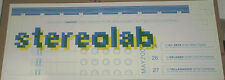 Stereolab RARE MULTI-DATE 2000 CONCERT GIG POSTER 29 Inches/THICK Card Stock