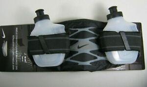 Nike Storm 2 Bottle Waistpack Unisex Running gym hiking Black/Grey/Red