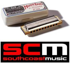 BRAND NEW HOHNER MARINE BAND 10 HOLES HARMONICA HARP KEY OF D 1896