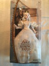 NIB Disney Alice Though the Looking Glass Alice in Wonderland White Queen Doll