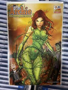 ARCHIE HALLOWEEN SPECTACULAR 1 Fan expo VARIANT Ltd To 400 POISON IVY