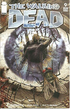 "Walking Dead #9  Regular Cover CGC 9.8  NEW CASE  ""Death"" Issue Kirkman & Moore"