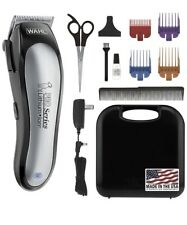Wahl  Professional Pet Trimmer Rechargeable With Accessories 09766 Dogs Cats