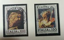 Francobolli Italia 1975 - Europa - 2 valori Usati