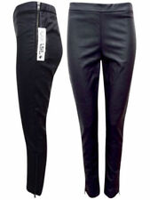 BRAND NEW FAUX LEATHER TROUSERS IN BLACK