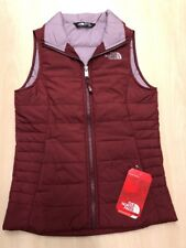 North Face Zinfandel Red Youth Kids Girls Insulated Vest Urban Explore M 10/12