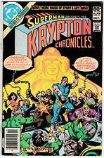 Krypton Chronicles #2 VG 4.0 Superman's ancestors, Ross Andru and Dick Giordano
