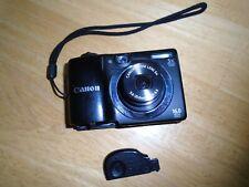 Parts Repair Canon PowerShot A1400 Digital Camera Black Works