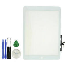 White Touch Screen Digitizer Glass for  iPad Air ONE models A1475 A1474 + Tools