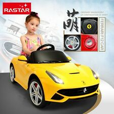LICENSED FERRARI F12 ELECTRIC RC RADIO REMOTE CONTROL RIDE ON CAR MP3 TOY KID