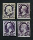 CKStamps: US Stamps Collection Scott#O25P3/O29P3 Unused H NG Proof Thin