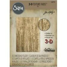 Sizzix 3D Textured Impressions A6 Embossing Folder - Lumber