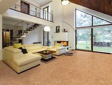 "Acoustic Floor Tiles Material Natural Salami Forna 8mm Cork Tiles  6""x6"" Samples"