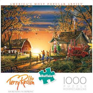 Buffalo Games 1000pc Jigsaw Puzzle Terry Redlin, Morning Sunrise