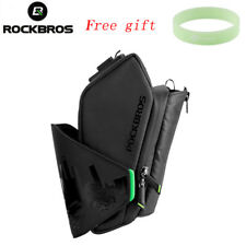 RockBros Bicycle Saddle Large Capacity Bag Seat Pouch Water Bottle Bags Black