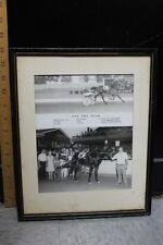 "The Red Mile 1972 All Alert Russell White Framed Photo Print 11 X 13"" (g)"