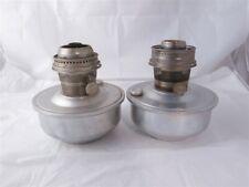 Lot of (2) Railroad Aladdin Kerosene Lamps Inserts #23 and Mod C