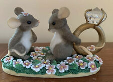 """Fitz and Floyd, Inc. Charming Tails """"I Have a Question for You"""" Figurine"""