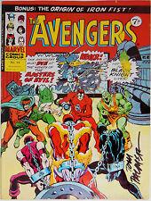 THE AVENGERS #54~MARVEL COMICS UK~SIGNED PALMER~1st ULTRON~NEW DOCTOR STRANGE