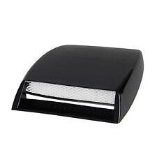 Universal Black Car Decorative Air Flow Intake Hood Scoop Vent Bonnet Cover