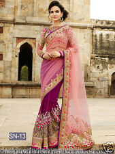 sari Traditional Wedding Designer Indian Latest Bollywood Bridal pakistani saree