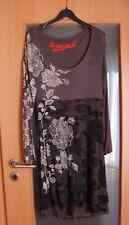 desigual Kleid Damen Gr. XL/XXL grau NEU