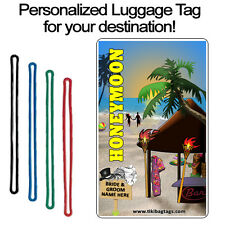 Personalized Travel Tag - Honeymoon