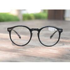 1920s Vintage Retro Oliver Gafas Marco Calidad Optica 41R82 Black eyewear Round