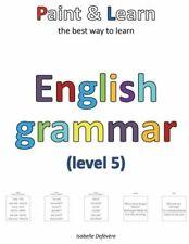 Paint & Learn: English grammar (level 5)