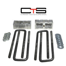 "Dodge Ram 4x4 1500 94-01  1.5"" Rear Lift Blocks ""B"" Square  Suspension aluminum"
