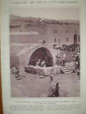 Public water well Nazareth Israel 1913