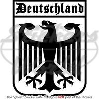 """GERMANY Deutschland German Eagle 6,4"""" Bumper Sticker"""