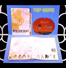 METAL GEAR SOLID 2 : Sons of Liberty - Jeu PS2 Tbe - (MGS Konami) -