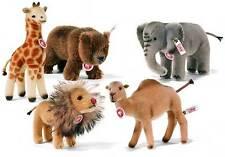 NEW STEIFF Camel Giraffe Elephant Lion Bear ZOO SET LTD EDT Ideal Gift 038686