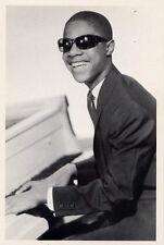 Stevie Wonder 1965•Young Singer Songwriter•Photo Kriegsmann Postcard