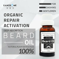 Men Hair and Beard Growth Oil Natural Accelerate Facial Hair Grow Beard Oil
