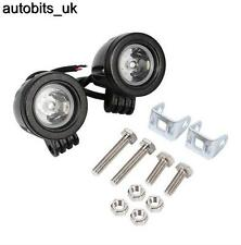 2X 12 V 24 V DEL Lampe de Travail Spot 10 W Offroad Truck Spot SUV Voiture ATV Boat Bar
