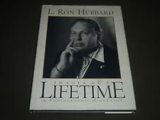 1996 L. RON HUBBARD IMAGES OF A LIFETIME HARDCOVER BOOK - GREAT PHOTOS - I 799