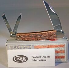 Case XX Valley Jig Natural Bone Smooth Color Wash Seahorse Whittler Knife