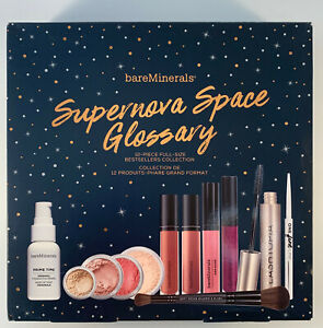 bareMinerals Supernova Space Glossary Bestsellers Collection - NEW DAMAGED BOX