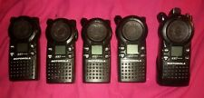 Motorola CLS1410 UHF Two-Way Radio NO CHARGER LOT OF 5 - no antenna WORKING