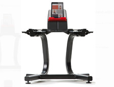 Bowflex SelectTech Dumbbell Stand w/Media Rack for SelectTech 552 &1090 dumbbell